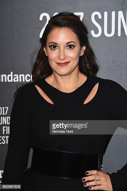 Actress Angelique Cabral attends the Band Aid Premiere at Eccles Center Theatre on January 24 2017 in Park City Utah