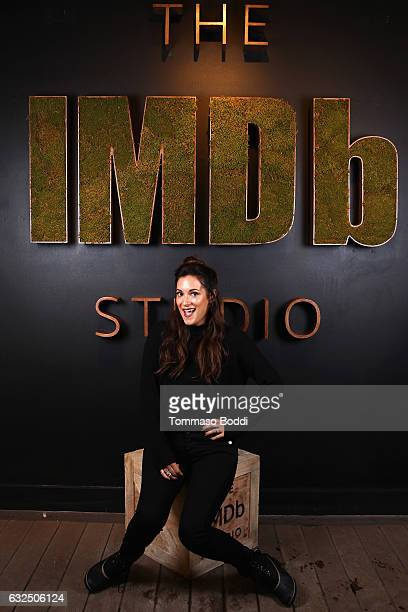 Actress Angelique Cabral of 'Band Aid' attends The IMDb Studio featuring the Filmmaker Discovery Lounge presented by Amazon Video Direct Day Four...
