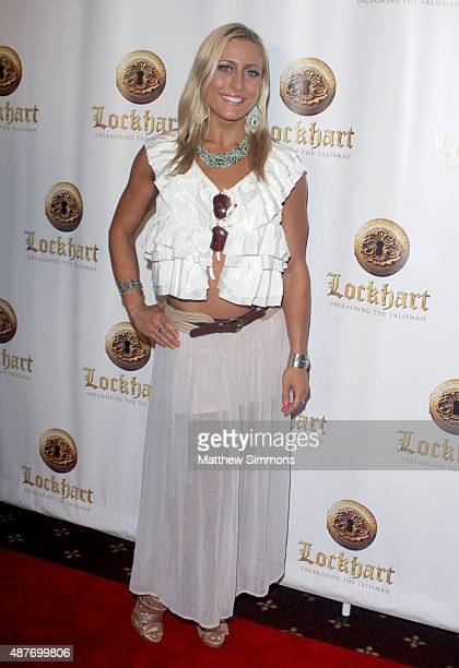 Actress Angelique Kenney attends the premiere of 'Lockhart' at Crest Theatre on September 10 2015 in Westwood California