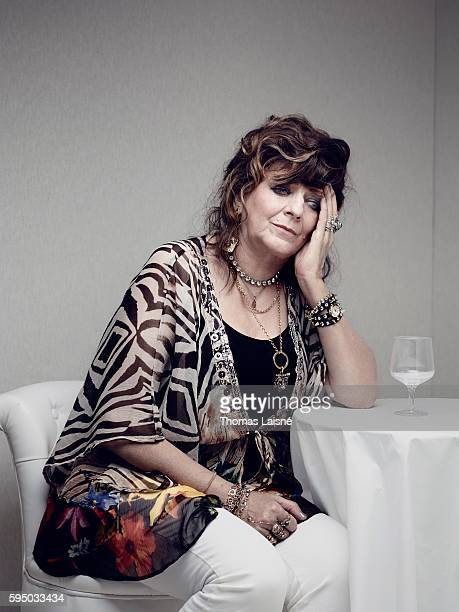 Actress Angelique Litzenburger is photographed for Self Assignment on May 23, 2014 in Cannes, France.