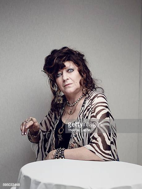 Actress Angelique Litzenburger is photographed for Self Assignment on May 23 2014 in Cannes France