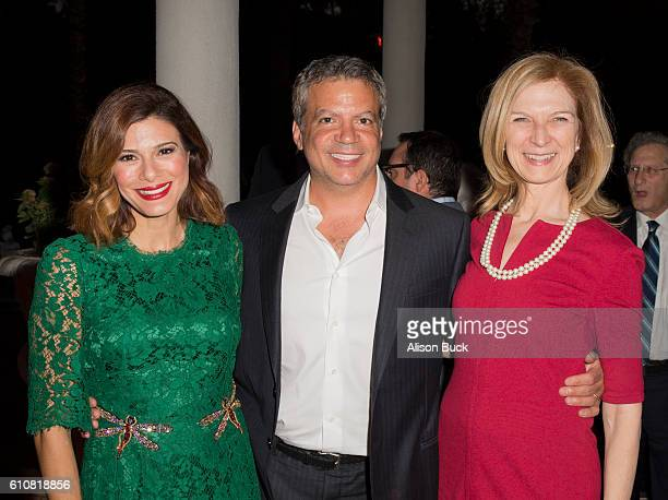 Actress Angelique Madrid producer Michael De Luca and CEO of the Academy of Motion Picture Arts and Sciences Dawn Hudson attend the Spirit Of Hope...