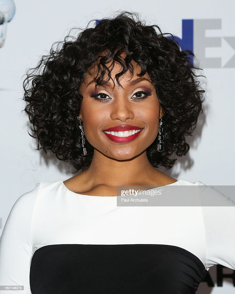 Actress Angell Conwell attends the 44th NAACP Image Awards nominee's luncheon on January 26, 2013 in Beverly Hills, California.