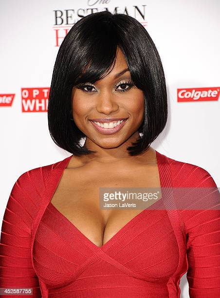 Actress Angell Conwell attends the premiere of 'The Best Man Holiday' at TCL Chinese Theatre on November 5 2013 in Hollywood California
