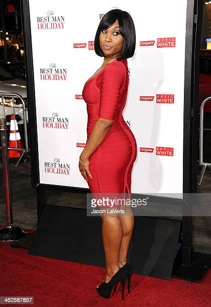 Actress Angell Conwell attends the premiere of The Best Man Holiday at TCL Chinese Theatre on November 5 2013 in Hollywood California