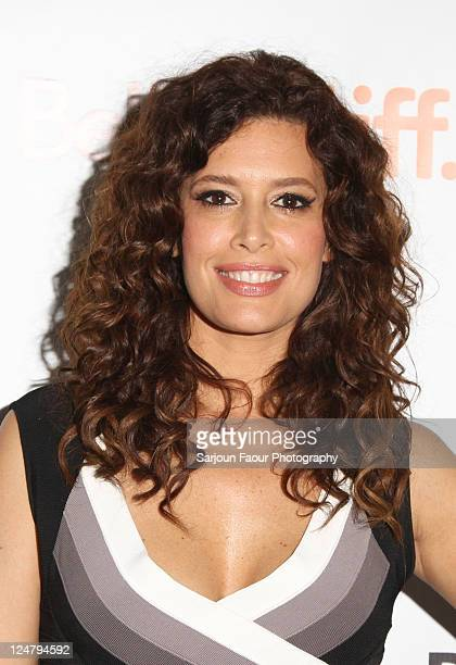 Actress Angie Cepeda attends Heleno Premiere at TIFF Bell Lightbox during the 2011 Toronto International Film Festival on September 12 2011 in...