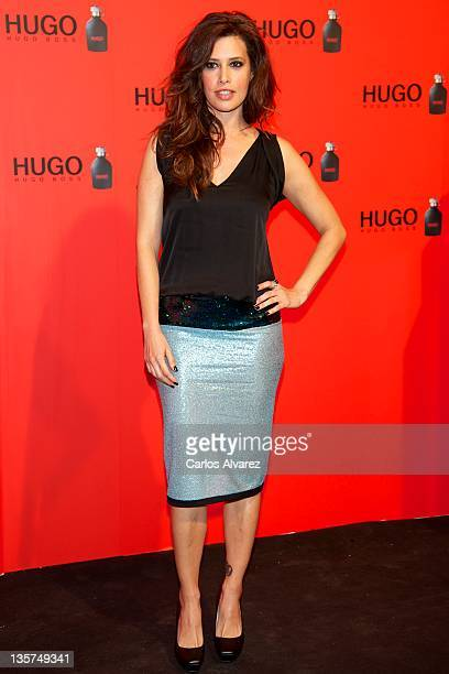 Actress Angie Cepeda attends Hugo Boss night party 2011 on December 13 2011 in Madrid Spain