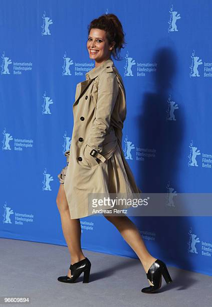 Actress Angie Cepeda attends the 'El Mal Ajeno' Photocall during day two of the 60th Berlin International Film Festival at the Grand Hyatt Hotel on...