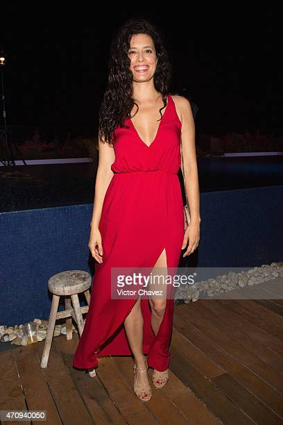 Actress Angie Cepeda attends the Riviera Maya Film Festival 2015 opening night party at Cacao Hotel on April 24 2015 in Playa del Carmen Mexico