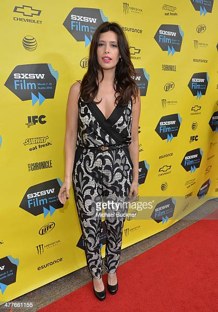 """Actress Angie Cepeda attends the screening of """"A Night In Old Mexico"""" during the 2014 SXSW Music, Film + Interactive Festival"""" at Paramount Theatre..."""
