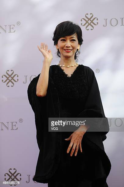 Actress Angie Chiu attends the activity of Jolly One on October 27 2015 in Beijing China