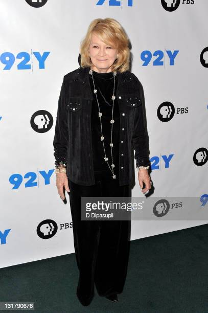 Actress Angie Dickinson attends the Pioneers of Television photocall at the 92nd Street Y on January 16 2011 in New York City