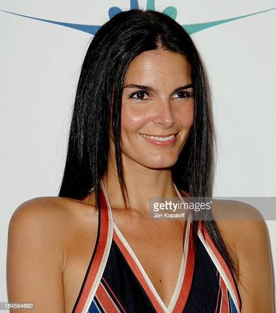 Actress Angie Harmon arrives at 'Chanel Celebrates New Concept Boutique on Robertson' at Chanel on May 29 2008 in Beverly Hills California