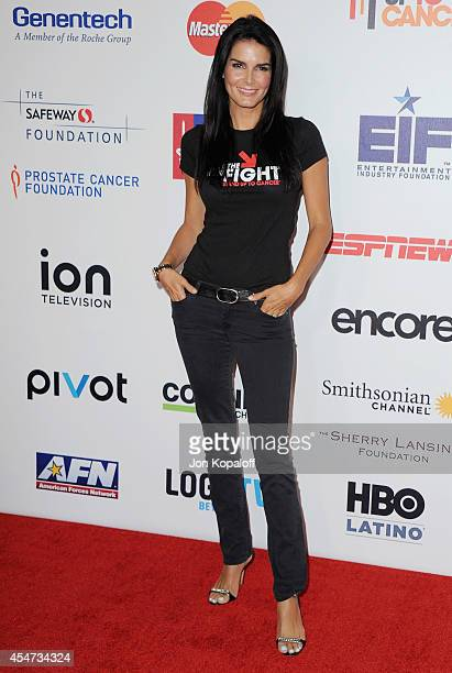 Actress Angie Harmon arrives at Hollywood Unites For The 4th Biennial Stand Up To Cancer A Program Of The Entertainment Industry Foundation at Dolby...