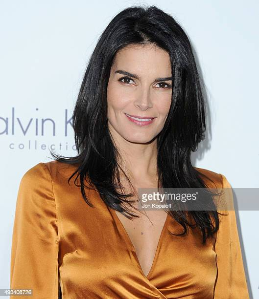 Actress Angie Harmon arrives at the 22nd Annual ELLE Women In Hollywood Awards at Four Seasons Hotel Los Angeles at Beverly Hills on October 19 2015...