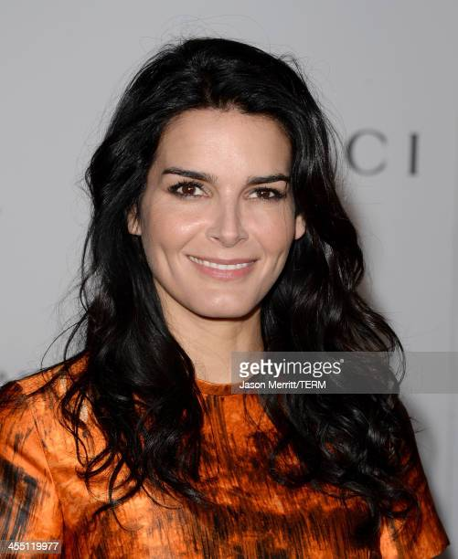 Actress Angie Harmon arrives at The Hollywood Reporter's 22nd Annual Women In Entertainment Breakfast at Beverly Hills Hotel on December 11 2013 in...