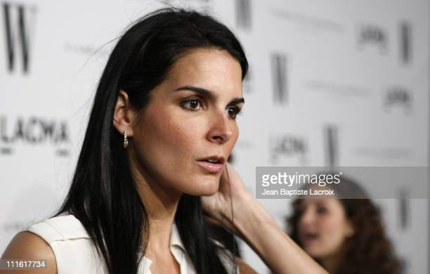 Actress Angie Harmon arrives to the Inaugural Avant-Garde Gala hosted by W Magazine & LACMA held at LACMA BCAM on March 8, 2008 in Los Angeles,...