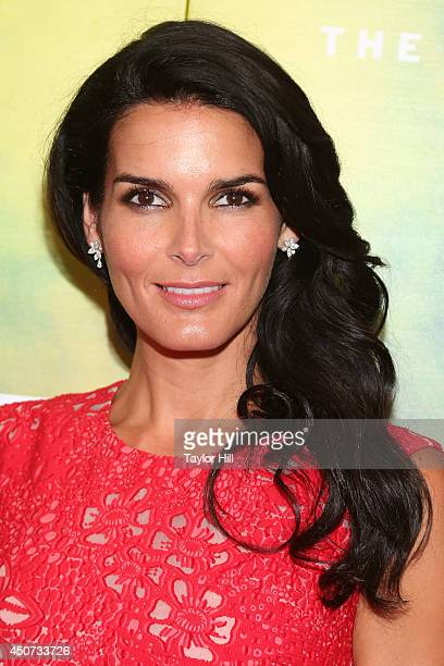 Actress Angie Harmon attends 2014 Fragrance Foundation awards at Alice Tully Hall Lincoln Center on June 16 2014 in New York City