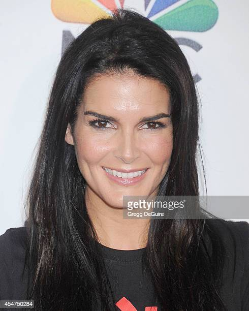 Actress Angie Harmon attends the 4th Biennial Stand Up To Cancer A Program of The Entertainment Industry Foundation at Dolby Theatre on September 5...