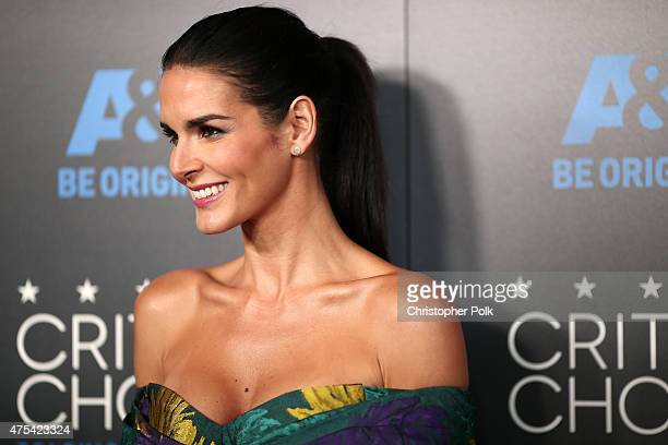 Actress Angie Harmon attends the 5th Annual Critics' Choice Television Awards at The Beverly Hilton Hotel on May 31 2015 in Beverly Hills California