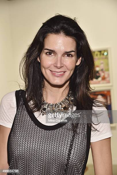 Actress Angie Harmon attends the Art Basel Miami Beach VIP Preview at the Miami Beach Convention Center on December 2 2015 in Miami Beach Florida