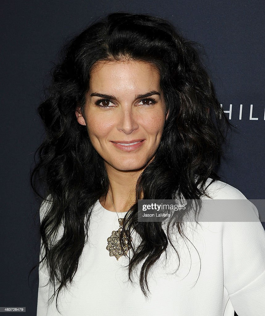 Actress Angie Harmon attends the debut of Tommy Hilfiger's Capsule Collection at The London Hotel on April 9, 2014 in West Hollywood, California.