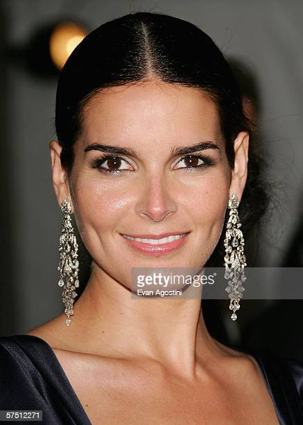 Actress Angie Harmon attends the Metropolitan Museum of Art Costume Institute Benefit Gala AngloMania Tradition and Transgression in British Fashion...