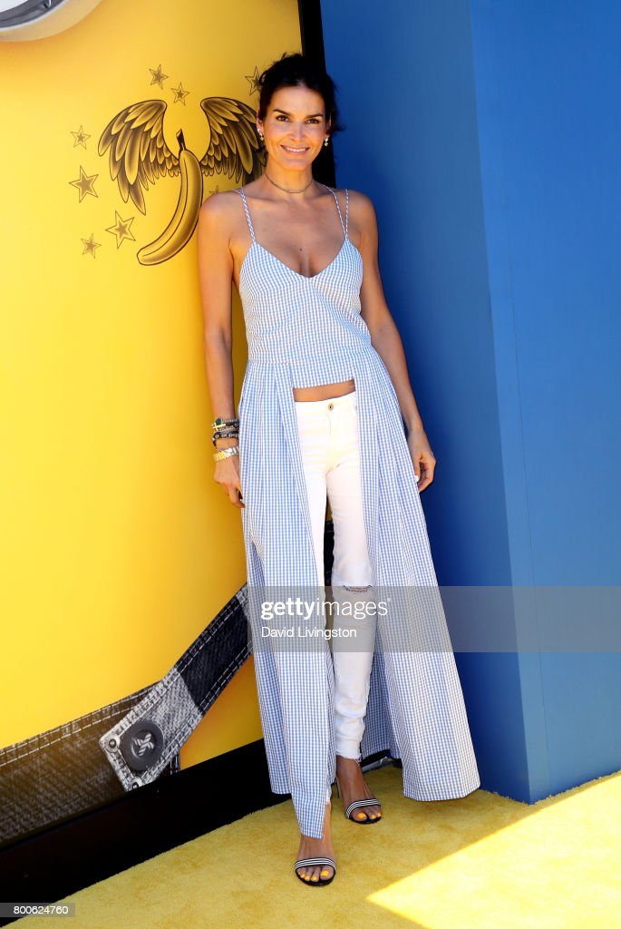 Actress Angie Harmon attends the premiere of Universal Pictures and Illumination Entertainment's 'Despicable Me 3' at The Shrine Auditorium on June 24, 2017 in Los Angeles, California.