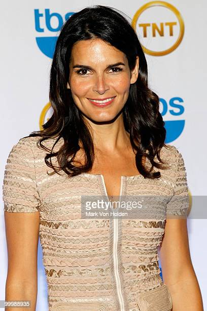 Actress Angie Harmon attends the TEN Upfront presentation at Hammerstein Ballroom on May 19 2010 in New York City 19688_003_0376JPG