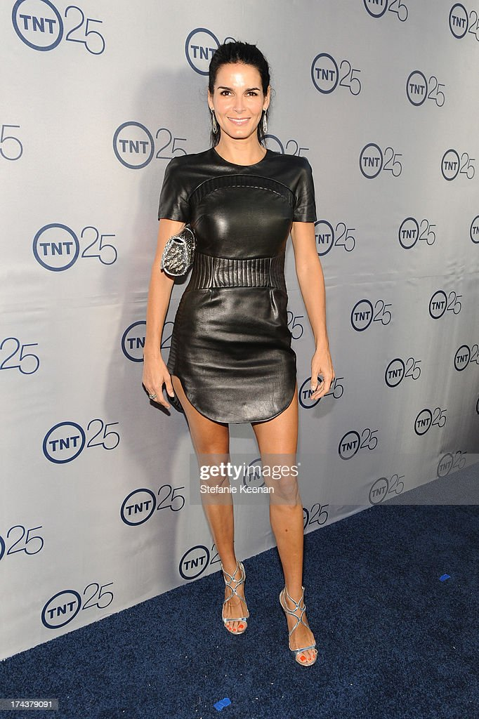 Actress Angie Harmon attends TNT 25TH Anniversary Party during Turner Broadcasting's 2013 TCA Summer Tour at The Beverly Hilton Hotel on July 24, 2013 in Beverly Hills, California.