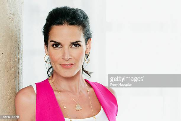 Actress Angie Harmon is photographed for TV Guide Magazine on May 14, 2013 in New York City.