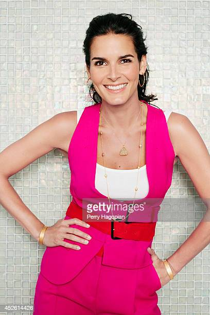 Actress Angie Harmon is photographed for TV Guide Magazine on May 14 2013 in New York City