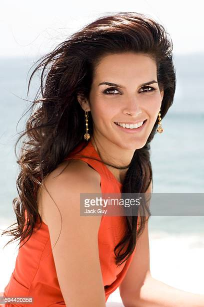Actress Angie Harmon is photographed in 2008