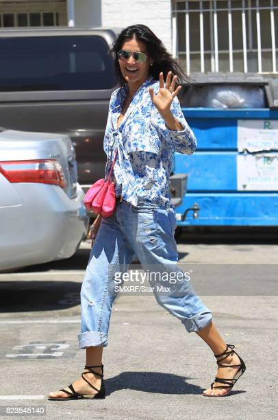 Actress Angie Harmon is seen on July 26 2017 in Los Angeles California