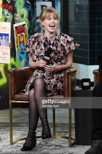 Actress Angourie Rice attends Build Series to discuss 'Every Day' at Build Studio on February 21 2018 in New York City