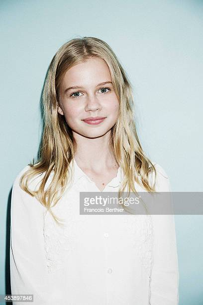 Actress Angourie Rice is photographed for Self Assignment on May 22 2014 in Cannes France