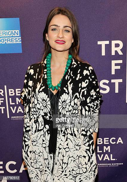 Actress Ania Bukstein attends the premiere of 'Rabies' during the 2011 Tribeca Film Festival at Clearview Cinemas Chelsea on April 21 2011 in New...
