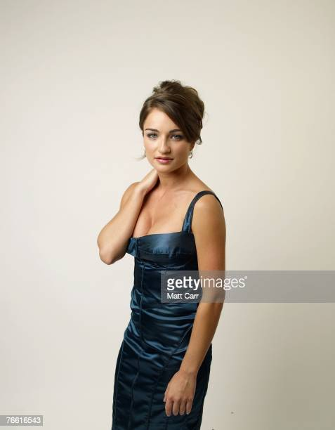 ACCESS*** Actress Ania Bukstein from the film 'The Secrets' poses for a portrait in the Chanel Celebrity Suite at the Four Season hotel during the...