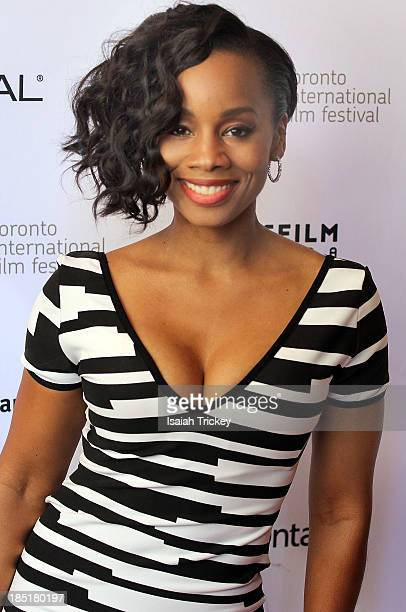 Actress Anika Noni Rose arrives at the 'Half Of A Yellow Sun' premiere during the 2013 Toronto International Film Festival at Winter Garden Theatre...