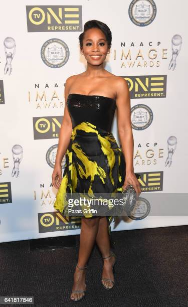 Actress Anika Noni Rose attends 48th NAACP Image Dinner at Pasadena Convention Center on February 10, 2017 in Pasadena, California.
