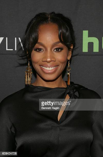 "Actress Anika Noni Rose attends BET Presents ""An Evening With 'The Quad'"" At The Paley Center on December 7, 2016 in New York City."
