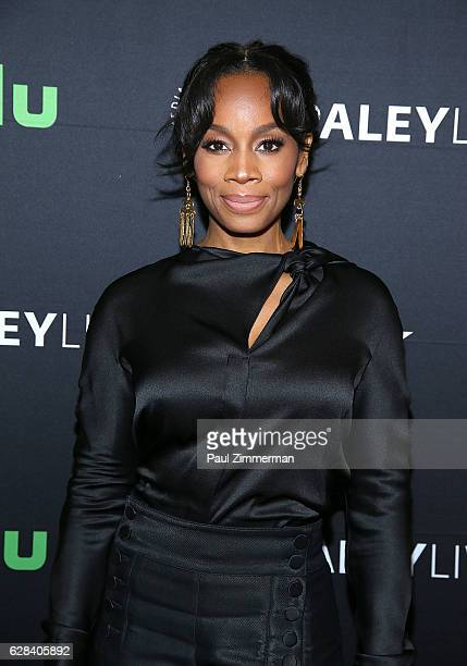 Actress Anika Noni Rose attends BET's The Quad Paley Center For Media World Premiere at The Paley Center for Media on December 7 2016 in New York City