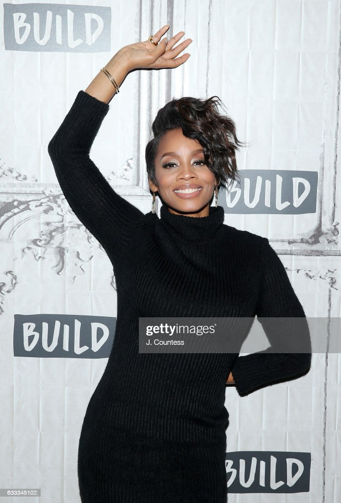 Actress Anika Noni Rose attends Build Series Presents Anika Noni Rose Discussing 'The Quad' at Build Studio on February 1, 2017 in New York City.