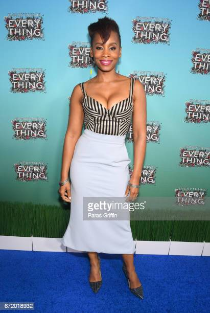 Actress Anika Noni Rose attends Everything Everything Screening and Brunch at W Hotel Atlanta Midtown on April 23 2017 in Atlanta Georgia