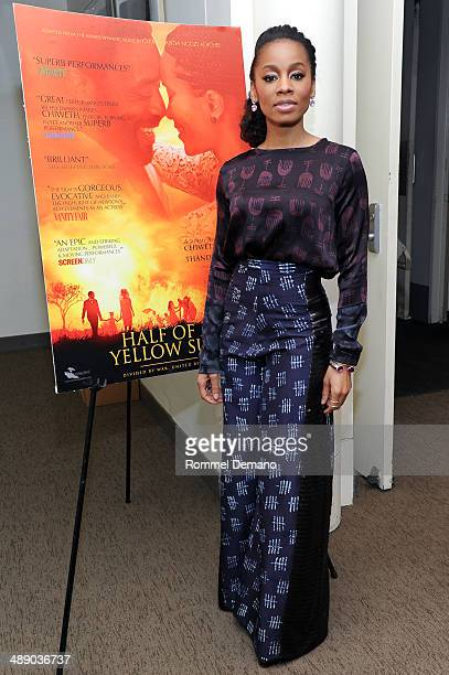 "Actress Anika Noni Rose attends the 21st New York African Film Festival Screening of ""Half Of A Yellow Sun"" at Elinor Bunin Munroe Film Center on May..."