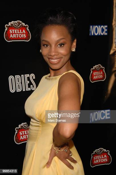 Actress Anika Noni Rose attends the 55th Annual OBIE awards at Webster Hall on May 17, 2010 in New York City.