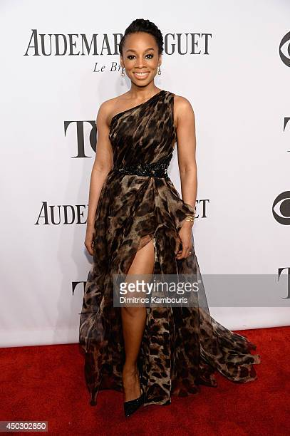 Actress Anika Noni Rose attends the 68th Annual Tony Awards at Radio City Music Hall on June 8, 2014 in New York City.