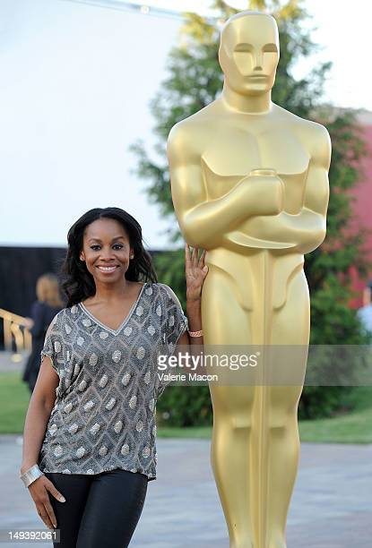 Actress Anika Noni Rose attends The Academy of Motion Picture Arts and Sciences' Oscars outdoors screening of Dreamgirls on July 27 2012 in Hollywood...