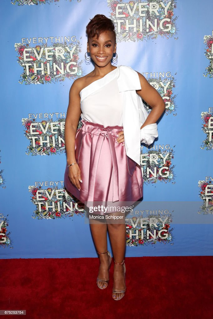 Actress Anika Noni Rose attends the 'Everything, Everything' New York Screening at The Metrograph on April 30, 2017 in New York City.