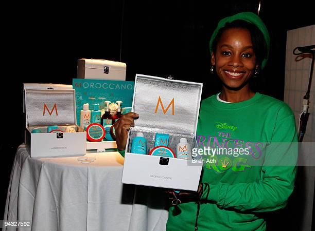 Actress Anika Noni Rose attends the Z100's Jingle Ball 2009 - Official H&M Artist Gift Lounge Produced by On 3 Productions at Madison Square Garden...